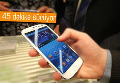 Samsung m��terilerine �zel ak�ll� telefon e�itimi verecek