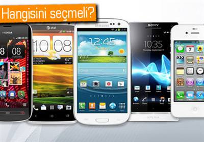 Ak�ll� telefonda hangi markay� tercih etmeli?