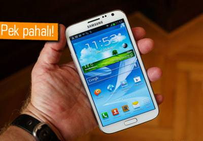 Samsung Galaxy Note 2'nin sat�� fiyat� belli oldu