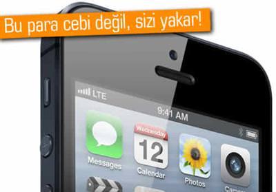 iPhone 5'in PES dedirtecek T�rkiye sat�� fiyat�!