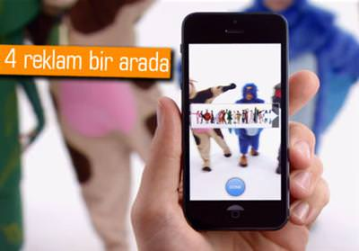 Apple, iPhone 5 i�in TV reklamlar� d�nd�rmeye ba�lad�