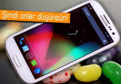Galaxy S3 i�in Jelly Bean g�ncellemesi ��kt�