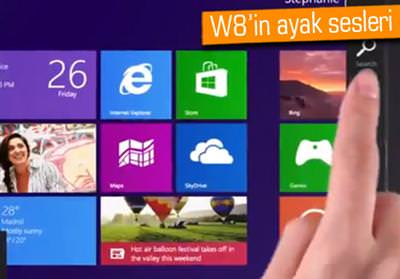 Windows 8'in reklam filmi s�zd�