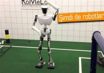 Gangnam Style dans� yapan robot