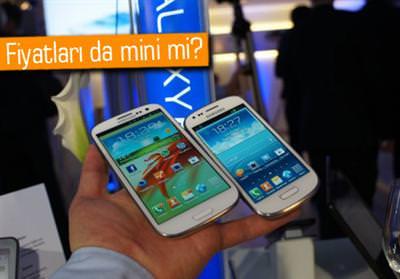 Samsung un geçtiğimiz haftalarda piyasaya sunduğu galaxy s3 mini