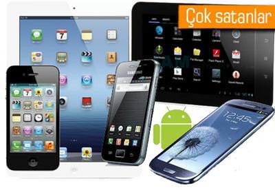Kas�m'da en �ok satan telefon ve tabletler