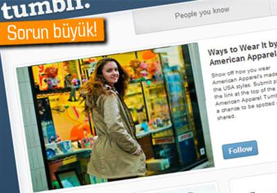 En büyük sosyal ağ ve blog larından birisi olan tumblr çöktü