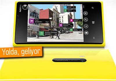 Nokia Lumia 920'ye g�ncelleme geliyor