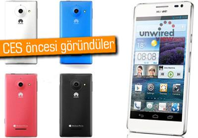 Huawei nin ces 2013 fuarında tanıtacağı cihazları huawei d2