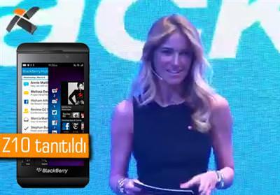 BlackBerry 10 T�rkiye lansman� ger�ekle�ti