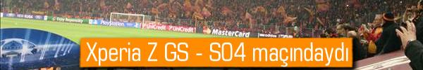 Sony Xperia Z'nin kameras�ndan Galatasaray - Schalke 04 ma��