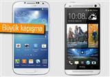 Galaxy S4 ve HTC One kar��la�t�rmas�