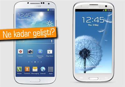 Galaxy S4 ve Galaxy S3 kar��la�t�rmas�