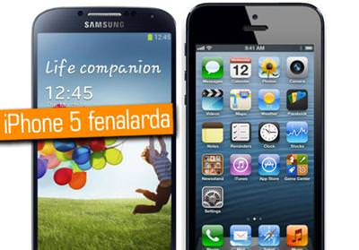 Galaxy S4, testlerde iPhone 5'i neredeyse ikiye katl�yor