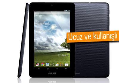 ASUS'tan uygun fiyata 7 in� MeMO Pad (ME172V) tablet geliyor