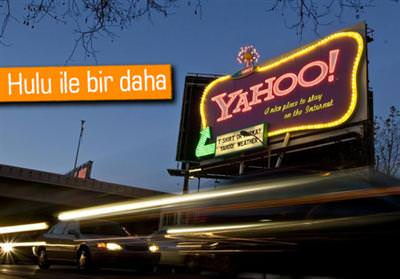 Yahoo, Hulu�nun pe�ine d��t�