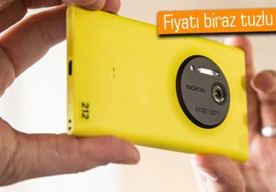 Lumia 1020 �n sipari�e sunuldu, i�te fiyat�