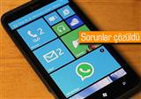 Windows Phone 8 i�in WhatsApp'a g�ncelleme geldi