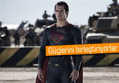 Superman ve Batman ayn� filmde!