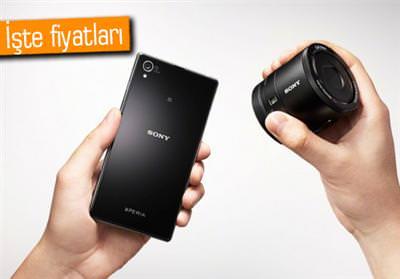 Sony Xperia Z1, Cyber-Shot QX100 ve QX10'un fiyatlar� belli oldu