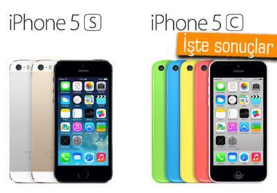 iPhone 5S vs. iPhone 5C - Hangisi daha �ok tercih ediliyor?