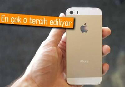 iPhone 5S'in hangi rengi daha �ok tercih ediliyor?