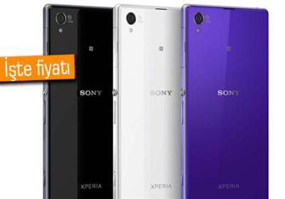 Sony Xperia Z1'in T�rkiye fiyat� belli oldu