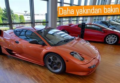 Google Street View ile Lamborghini Müzesi'ni gezin