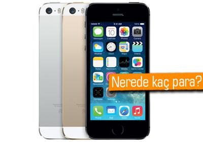 ��te iPhone 5S'in T�rkiye sat�� fiyatlar�