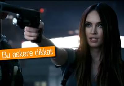 Megan Fox, yeni Call of Duty i�in sniper oldu