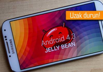Galaxy S3 Android 4.3 Jely Bean Güncelleme Sorunu-Hatası