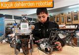 Gazzeli �ocuklar robot geli�tiriyor