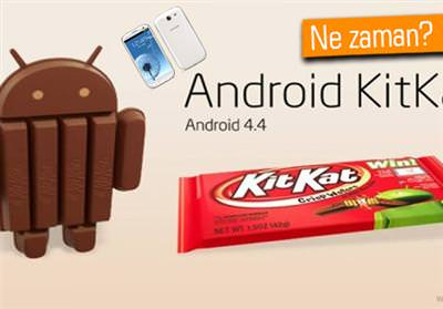 Galaxy S3 ve Note 2 i�in KitKat g�ncellemesi geliyor