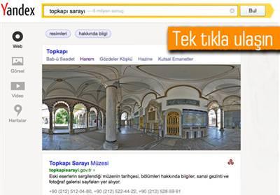 Topkap� Saray�'n� Yandex�le gezin
