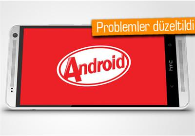 HTC One i�in ikinci KitKat g�ncellemesi de ba�l�yor
