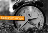 Saatlerinizi ileri almay� unutmay�n!