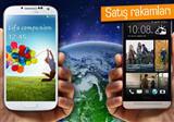 Samsung sat��larda HTC'yi ge�mi�