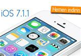 Apple, iOS 7.1.1 g�ncellemesini yay�nlad�