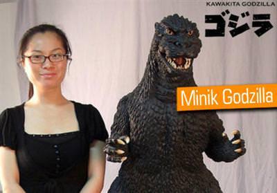 Godzilla evinize geliyor