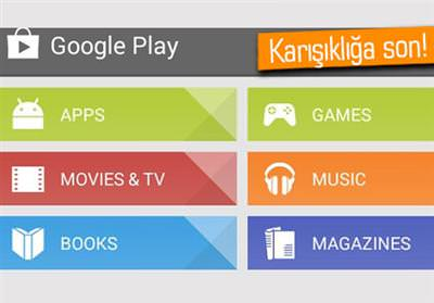 Google Play Store�a yeni g�ncelleme