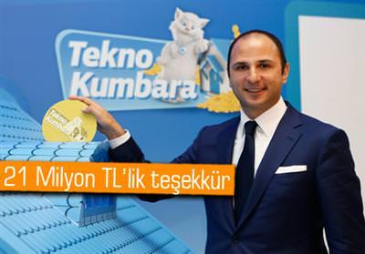 T�rk Telekom, Tekno Kumbara ile te�ekk�r edecek