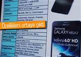 Galaxy Mega 2'nin �zellikleri belli oldu