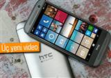 HTC One M8 For Windows Phone i�in yay�nlanan videolar