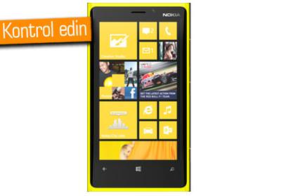 Nokia Lumia 920 i�in g�ncelleme