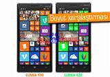 Nokia Lumia 830 ile Lumia 930 yan yana g�r�nt�lendi
