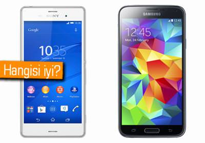 IFA 2014: Sony Xperia Z3 ve Samsung Galaxy S5 kar��la�t�rmas�