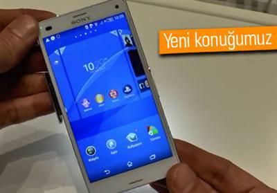 IFA 2014: Sony Xperia Z3 Compact ilk bak��