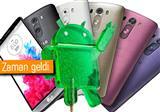 LG G3 i�in Android 5.0 da��t�lmaya ba�l�yor