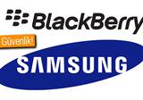 Samsung ve BlackBerry, ortakl�k anla�mas� imzalad�