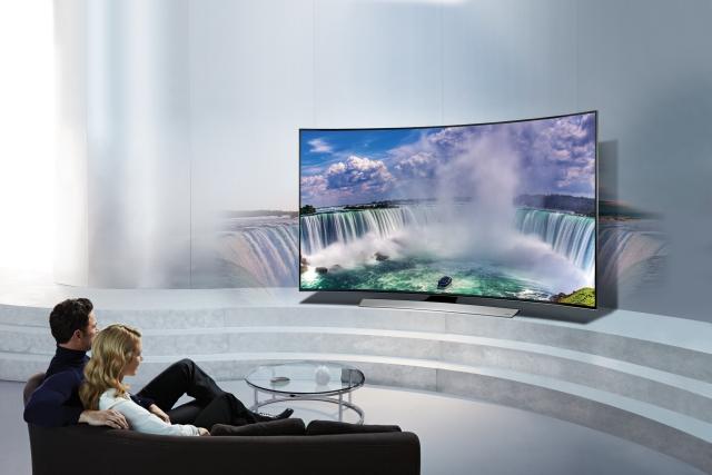 Samsung kavisli TV